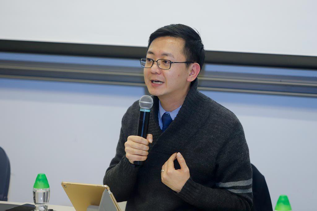 香港特別行政區發展局局長政治助理馮英倫先生