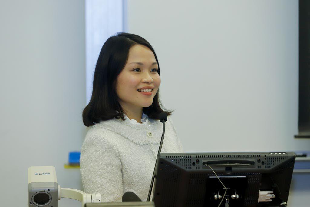 香港中文大學政治與行政學系助理教授朱湄教授